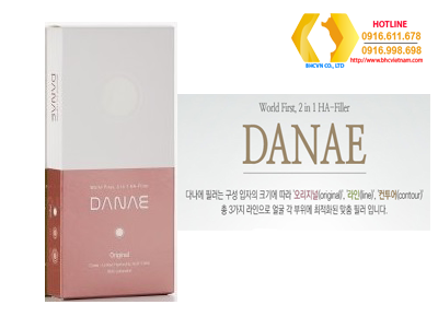 Danae Original Lidocaine-Hộp mầu đỏ (Phân tử hạt H.A nhỏ)