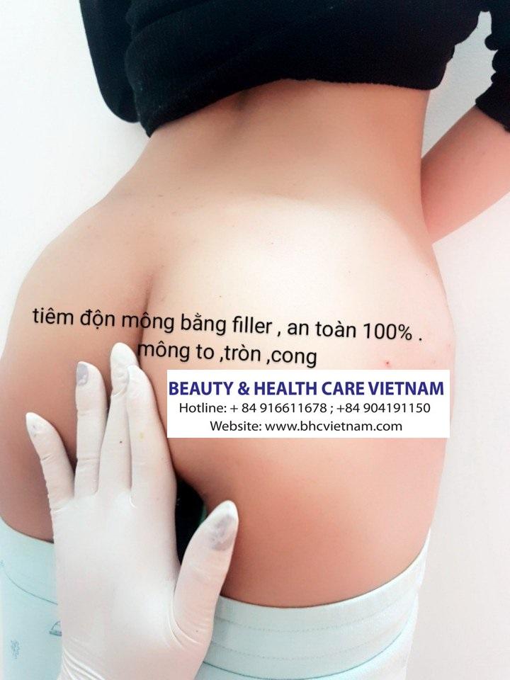 Tiêm Filler nâng mông, ngực giúp chị em sở hữu thân hình hoàn mỹ