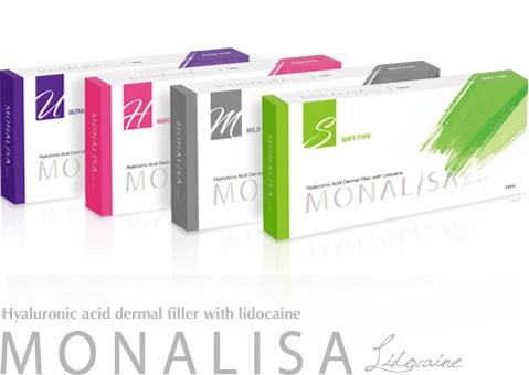 Bộ sản phẩm Filler Monalisa các loại Hàm lượng: 20mg HA /ml
