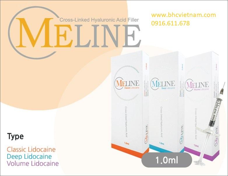Bộ sản phẩm Meline giúp điều trị nếp nhăn, chỉnh hình mũi, cằm má nhanh chóng, hiệu quả và an toàn