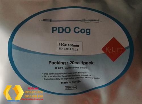 Chỉ PDO COG nâng mũi 19Gx100mm