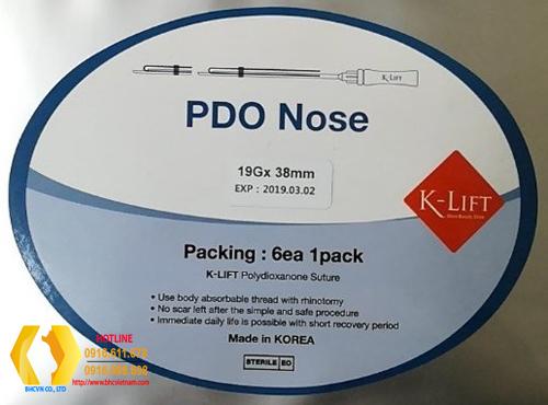 Chỉ PDO NOSE nâng mũi 19Gx38mm
