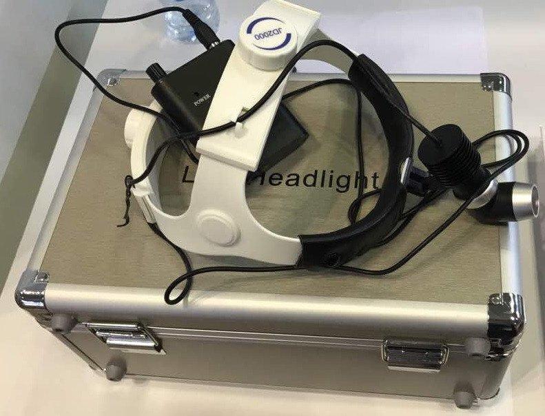 Đèn Led phẫu thuật đội đầu 3w-20.000 Lux, 5w-35.000 Lux, 10w-50.000 Lux dùng trong nha khoa, tai mũi họng, phẫu thuật thẩm mỹ