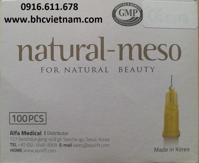 Kim tiêm dưỡng chất, tiêm tê Nano/Hypodermic Needle 30G, 32G, 33G, 34G x 4mm, x 13mm